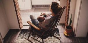 Hallo jonge moeders, wat gaan jullie doen als je man ervandoor gaat?