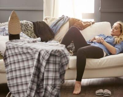 22 momenten dat je een luie vrouw bent